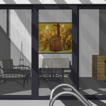 Эскизный проект банного комплекса «Архимед». Архитектор: Сергей Косинов. Новосибирск