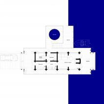 Проект бани «Ангара». План комплекса. Архитектор: Сергей Косинов. Новосибирск. 2015 г.